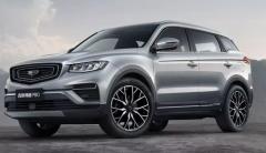 国产SUV,吉利博越PRO限时抢购9.88万起