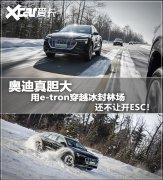 电动车也敢穿雪原 奥迪e-tron冰雪试驾