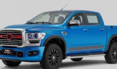 新款中兴领主原定6月上市的新款领主车型调整8月份内上市
