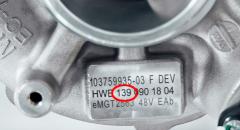 梅赛德斯AMG计划将其新的电动废气涡轮增压器安装到M139四缸发动机上