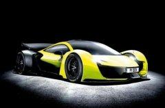 迈凯轮的目标是一些纯电动范围