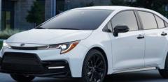 2021年丰田卡罗拉通过新运动套件提高了其Apex吸引力