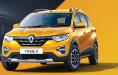 雷诺Triber AMT在印度以61.8万卢比的价格推出