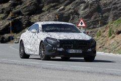 奔驰新S级coupe海外开始路测 或年底推出