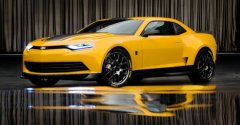 全新雪佛兰科迈罗概念车 将亮相变形金刚4