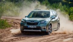 斯巴鲁证实了其2020年3月推出的混合动力车领域