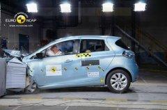 雷诺ZOE获Euro-NCAP五星安全评级