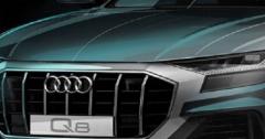 奥迪本周发布了其即将面世的新款Q8 SUV的另一张预告片