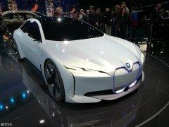 宝马全新概念车将2021年投产 续航600km
