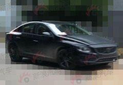 沃尔沃S60改款车型曝光 上海车展首发